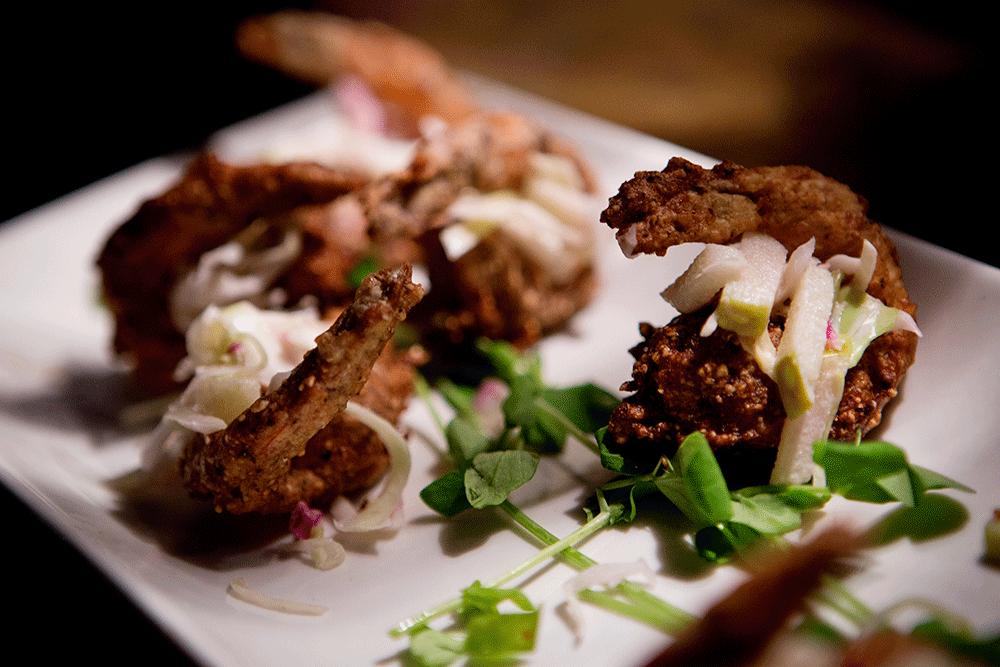 shrimp appetizer wedding caterer