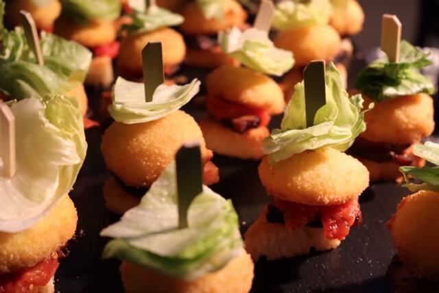 appetizers party event and wedding catering