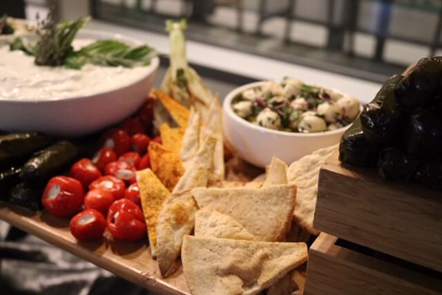 tapas table catering