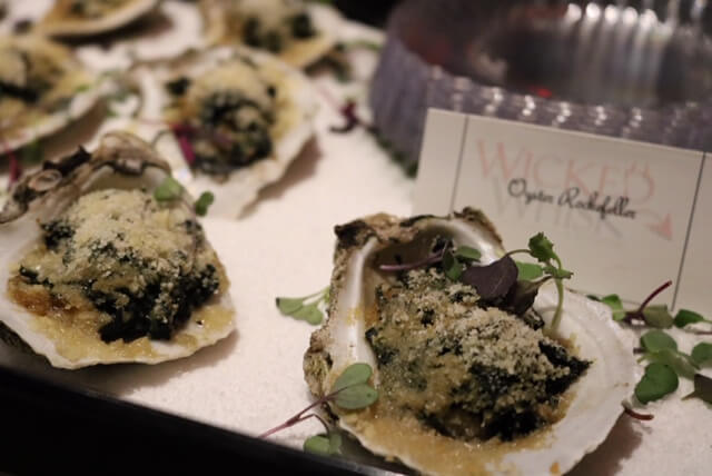 oysters rockafeller full service catering