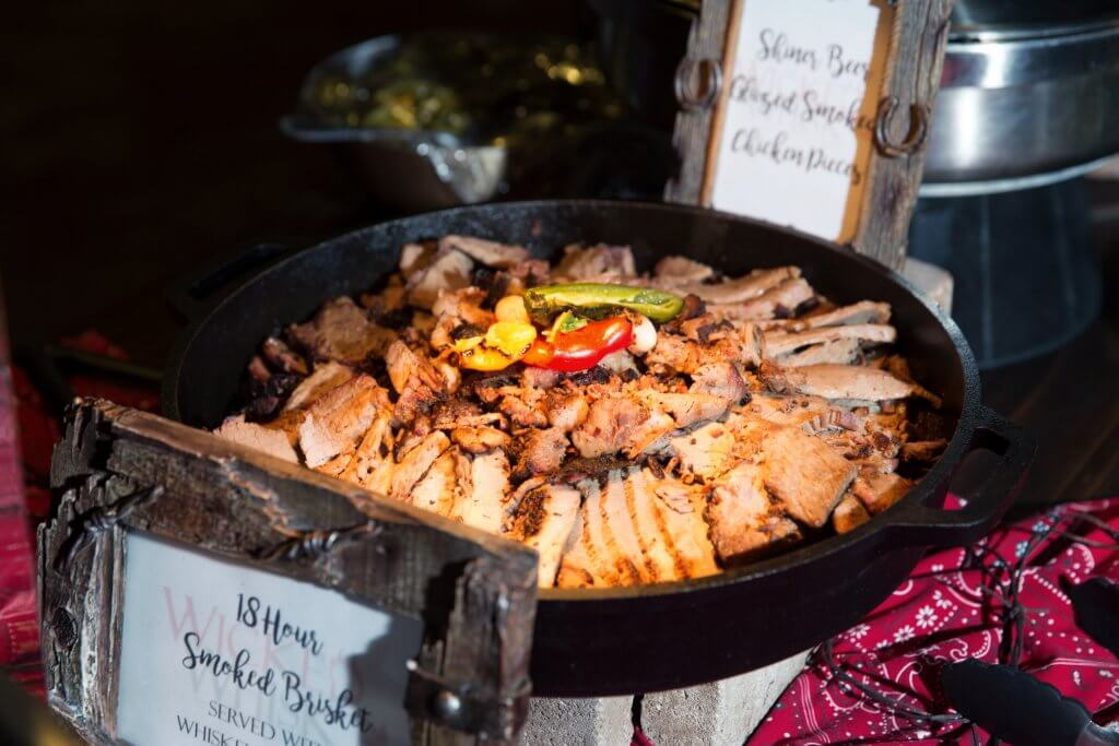 smoked brisket full service catering